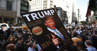 Donald Trump Signs Copies Of His New Book