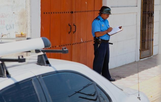 Nicaraguan Policeman