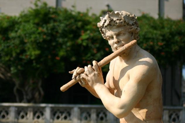 Flute Statue