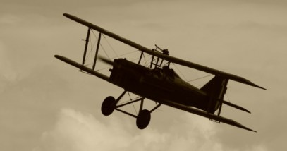 WWI Biplane Featured