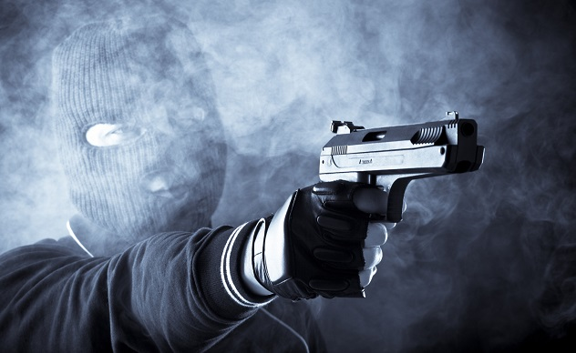 bank robbing killer