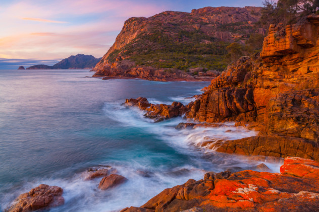 Sleepy Bay - Freycinet National Park - Tasmania - Australia