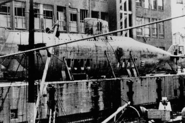 Type XVII U-Boat