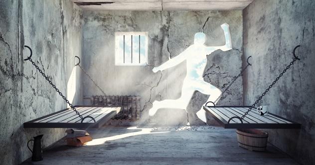 escape from a prison cell
