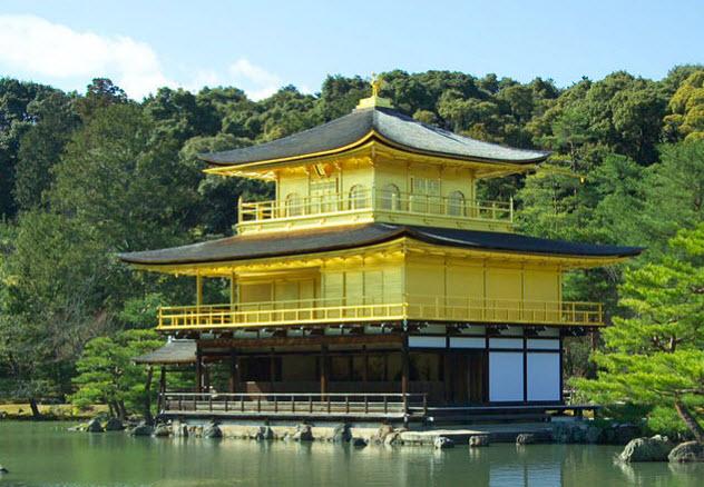 1-Temple-of-the-Golden-Pavilion-japan