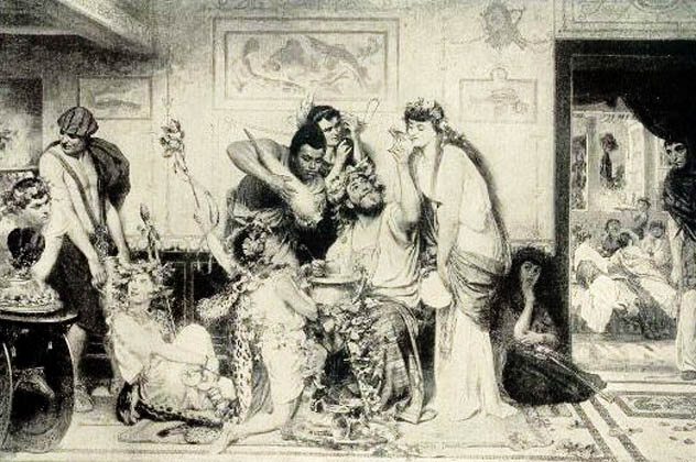 2- ancient rome feast