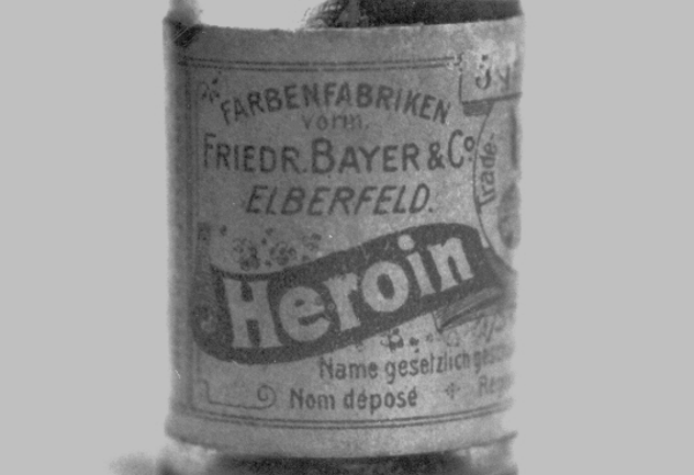 Old Heroin Bottle