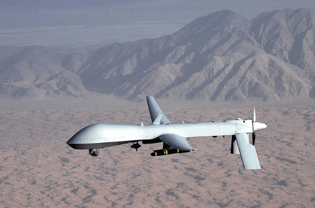 Predator UAV Flight