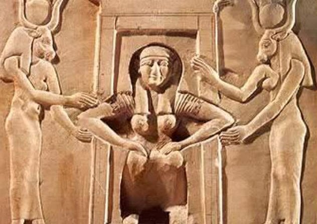2-egyptian-woman-birthing-stool