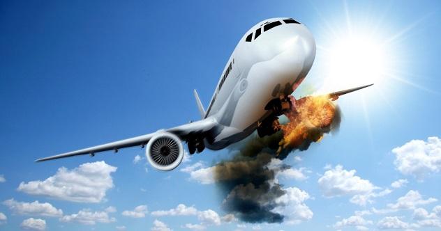 plane explosion