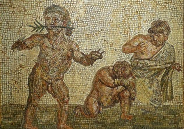 7-dwarfs-roman-arena