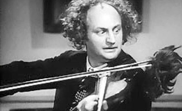 Three Stooges 3-larry-fine-playing-violin