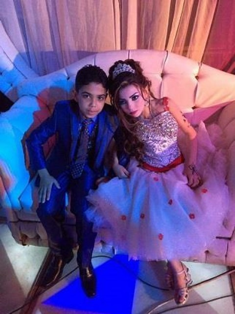 Pictures of Two Egyptian Minors Engaged To be Married