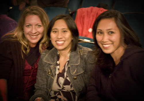 Three of us at Dreamgirls