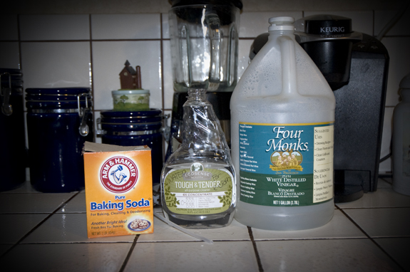 Ingredients for Homemade Stain Treatment