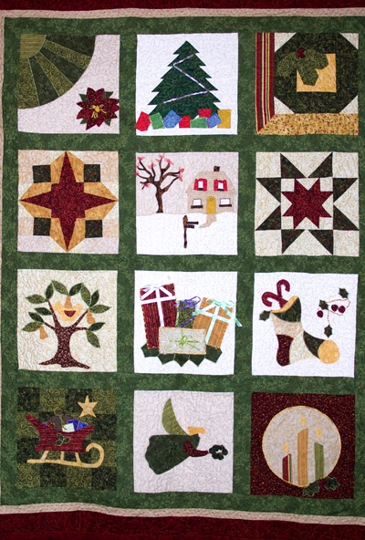 handmade Christmas Quilt