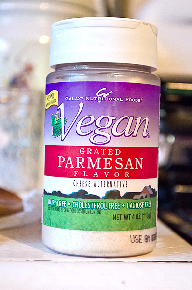 Galaxy vegan parmesan