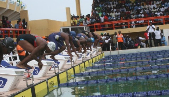 University of Ibadan Swimming class