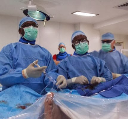 Surgery of the brain performed on woman while Awake At UCH in Ibadan