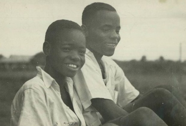 Philosophy of Education in Nigeria- Young school boys in the 1940s.