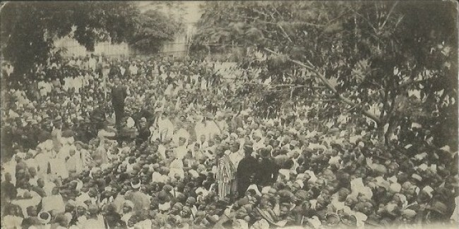 Lagos protest against land taxes 1895