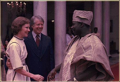 Obasanjo and Jimmy Carter