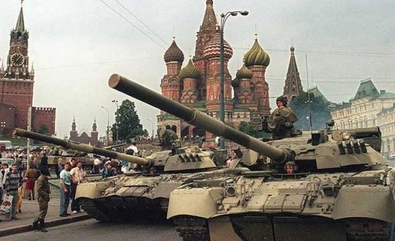 1991:  Um golpe de direita disfarçado com a bandeira vermelha