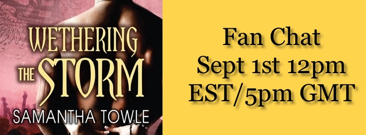 Upcoming Event: Join Us for a Live Fan Chat with Samantha Towle