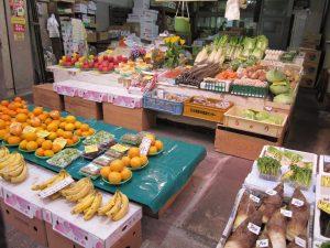 street market in osaka