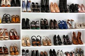jane aldrige's shoe rack