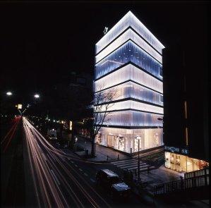 dior building in omotesando, tokyo