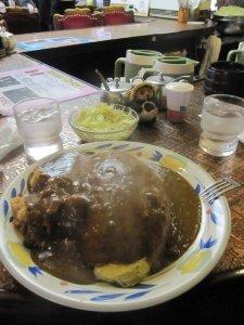 curry omu rice