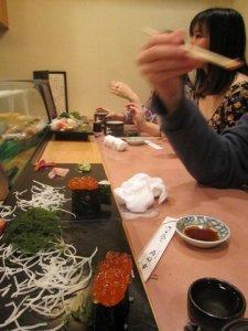 sushi dinner ueno tokyo 7