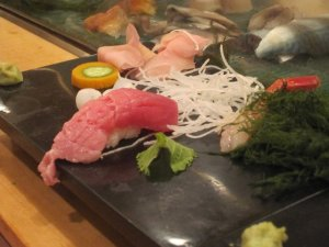 sushi dinner ueno tokyo 9