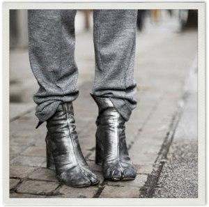 the amazing margiela tabi boots