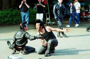 rockabilly dancers in yoyogi park
