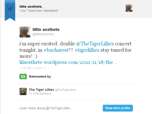 tiger lillies retweet