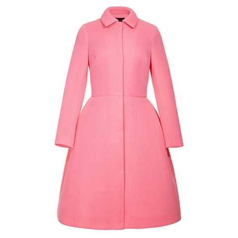 vogue uk september issue simone rocha pink coat