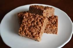 Small Of Peanut Butter Rice Krispie Bars