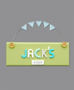 boys bedroom door sign