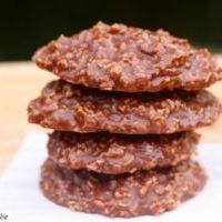 Easy No-Bake Oatmeal Cookies