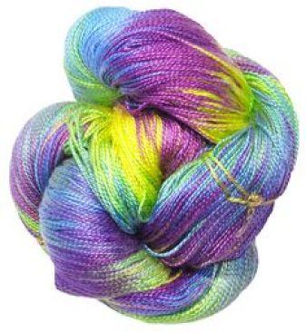really bright yarn