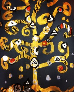 Gustave Klimt Tree of Life