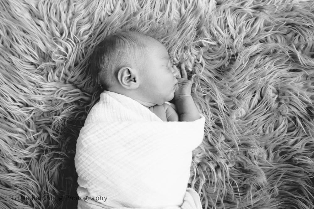 Asa {Rainbow Baby Newborn Photos}