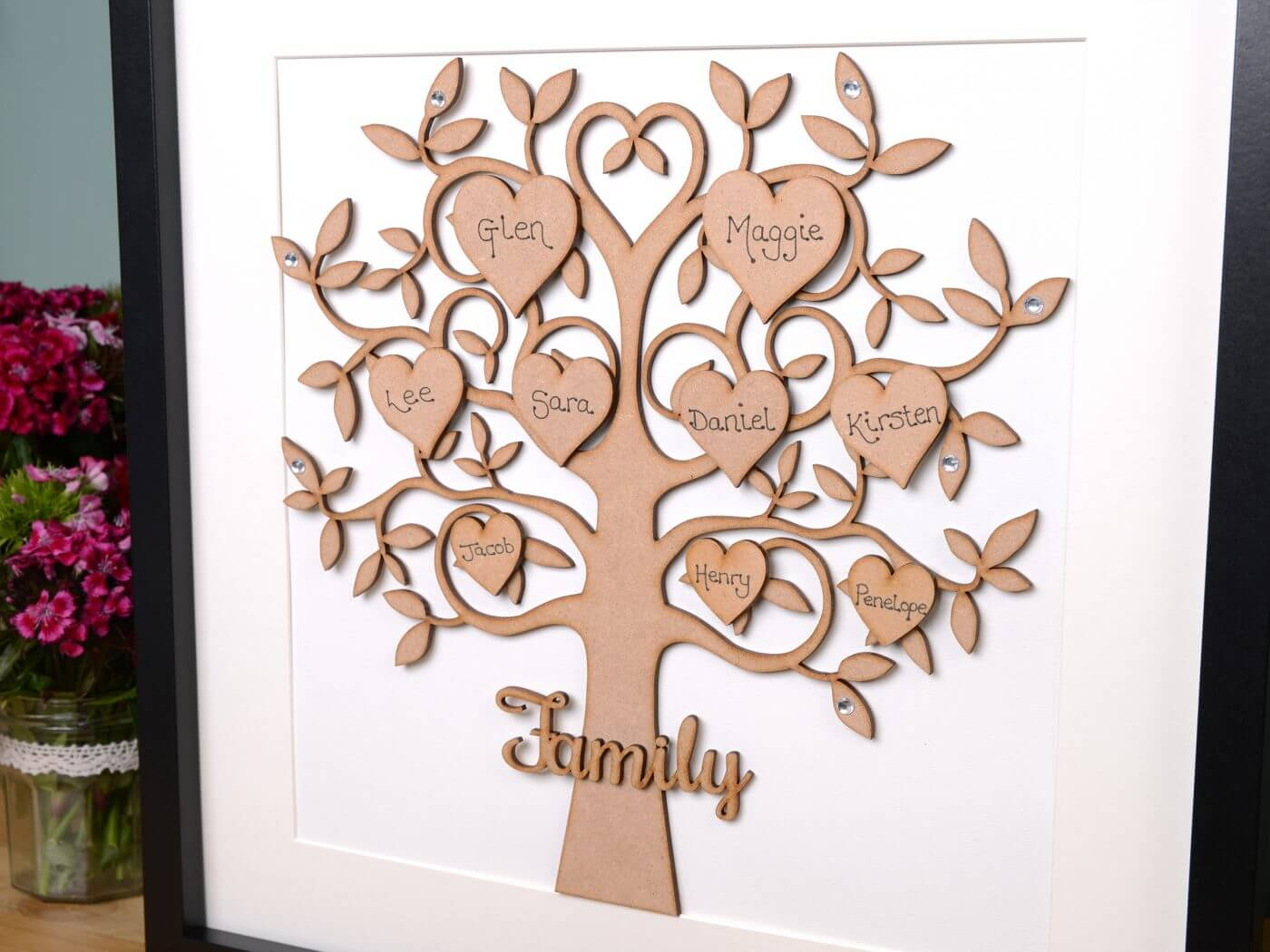 Enthralling Zoom Images Wooden Family Tree Frame Large Family Tree Free Uk Delivery Family Tree Frames Wall Family Tree Frame Wall Collage photos Family Tree Picture Frame