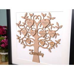 Small Crop Of Family Tree Picture Frame
