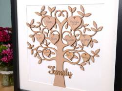 Enthralling Zoom Images Wooden Family Tree Frame Large Family Tree Free Uk Delivery Family Tree Frames Wall Family Tree Frame Wall Collage
