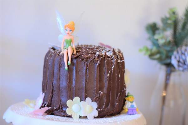 December Birthday Fairy Party food Fairy Cake