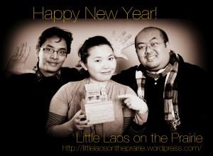 Bryan, Chanida, and Danny wishing everyone a Happy New Year!