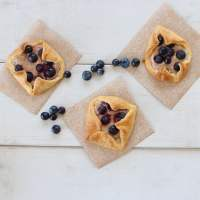 Blueberry Pastry Delights